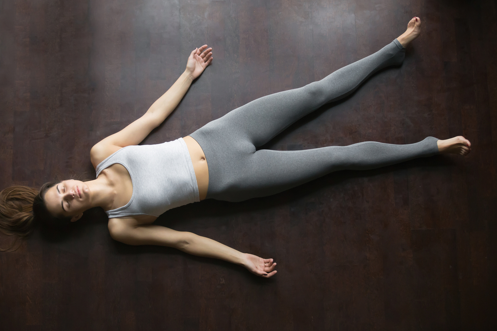 Savasana-The Corpse Pose