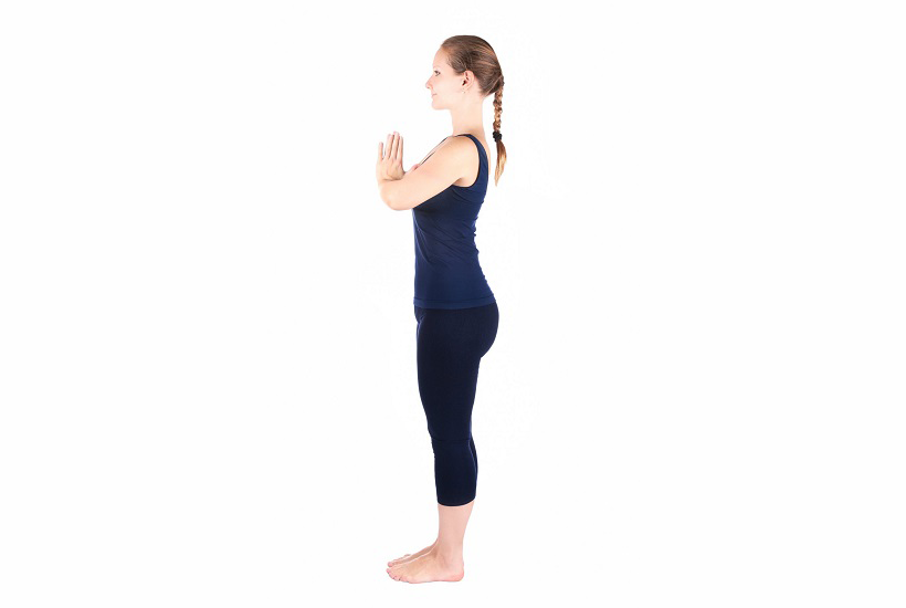Pranamasana is the very 1st Posture of Sun Salutation. It is called 'THE PRAYER POSE'.