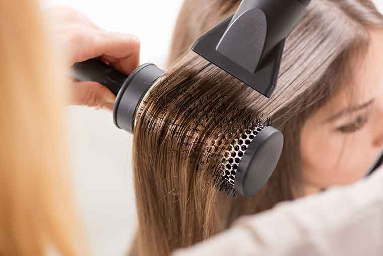 Hair Care Mistakes - Excessive Heating Exhausts Hair