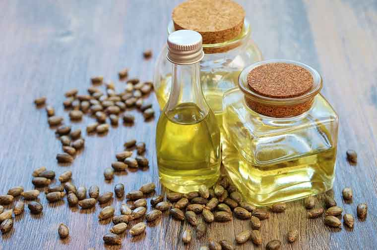 How to get rid of dandruff naturally - Castor Oil