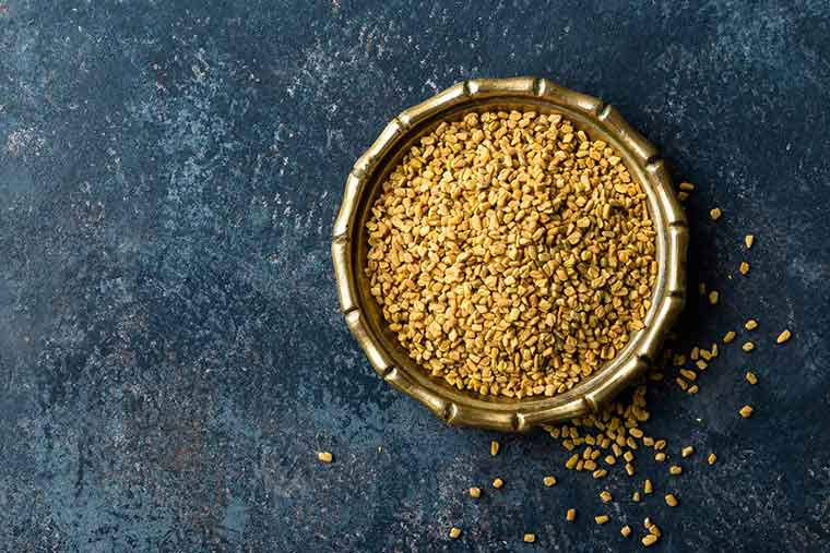 How to get rid of dandruff naturally - Fenugreek Seeds