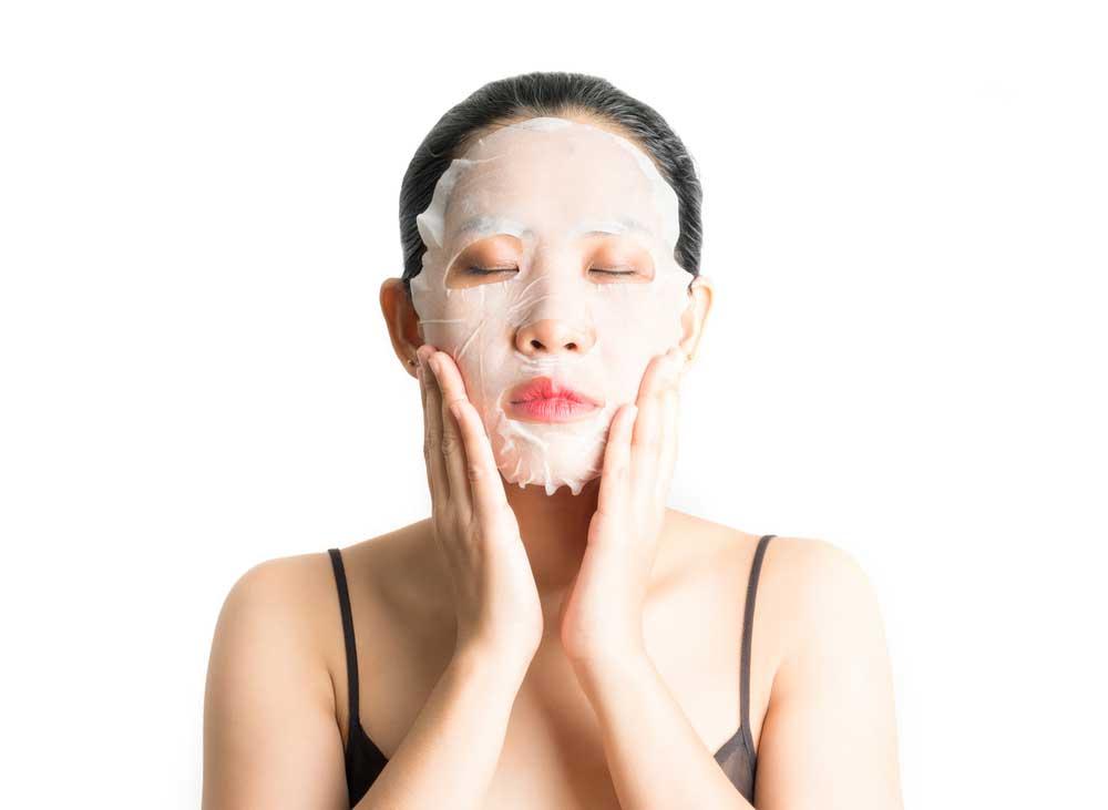 10 Step Korean Skin Care Routine   Sheet Mask