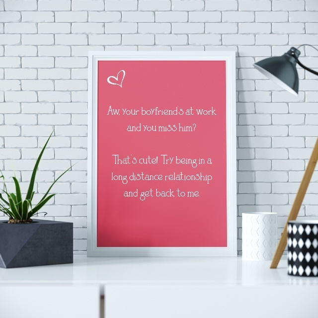 Cute Long Distance Relationship Quote