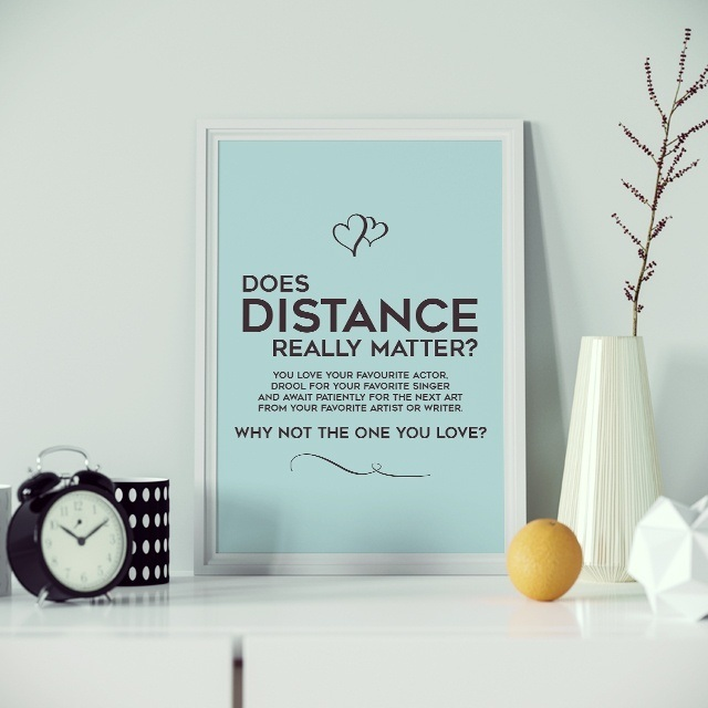 Does DISTANCE Really Matter Quote