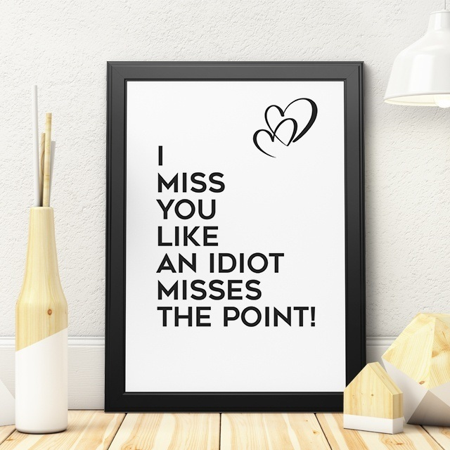 Funny Long Distance Relationship Quote about missing the partner