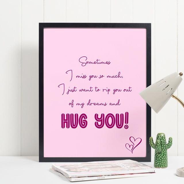 Hug You Quote