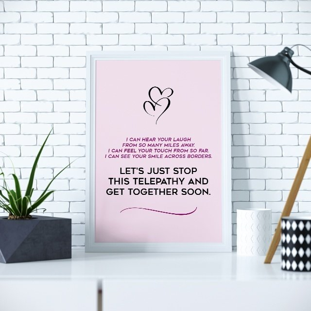 Long Distance Relationship Quote about Getting Together Soon