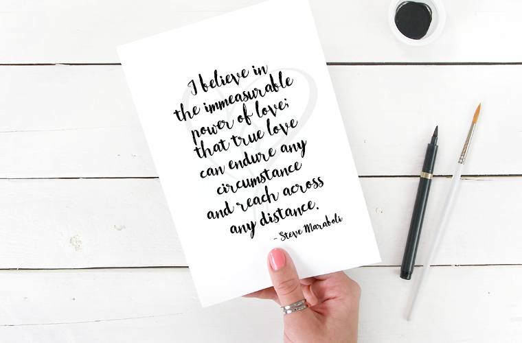 Quote about Power of Love