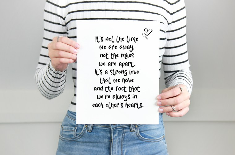 Strong Love Quote