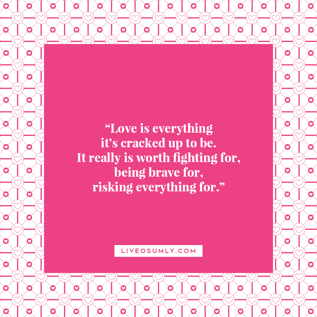 14. Surviving LDR Quotes - Worth of Love