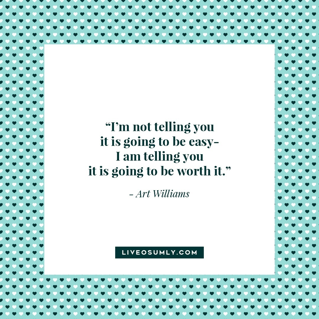 15. Surviving Long Distance Relationship Quotes - Art Williams Quote
