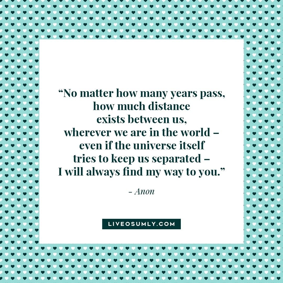 17. Surviving Long Distance Relationship Quotes - Anon Quote