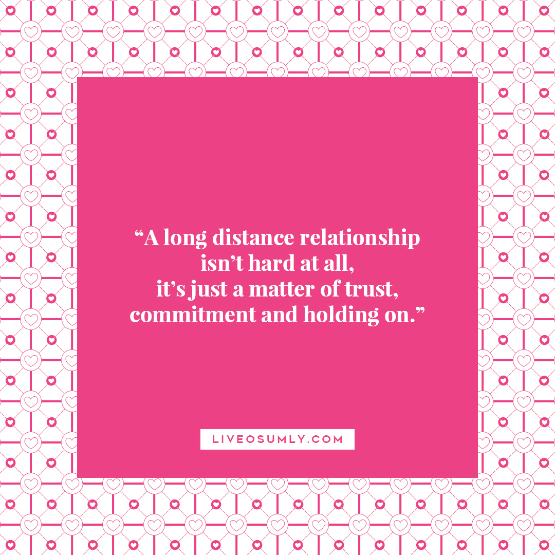 18. Surviving LDR Quotes - Trust, Commitment and Holding on