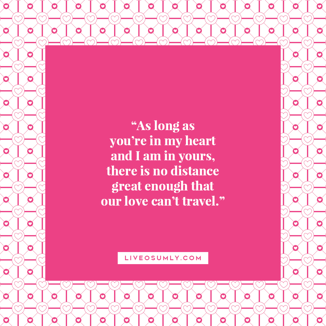 22. Surviving LDR Quotes - No Distance is great enough