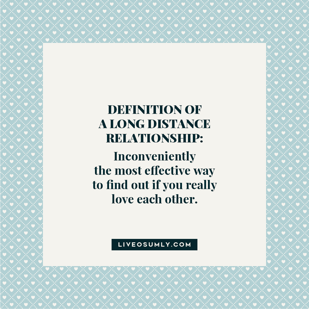 30. LDR Quotes for Her - Definition of a long distance relationship