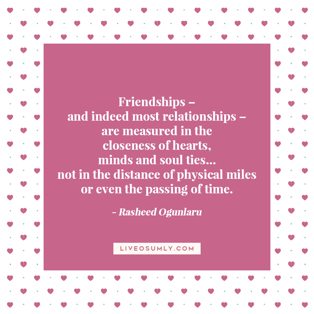 35. Long Distance Relationship Quotes for Her - Rasheed Ogunlaru Quote