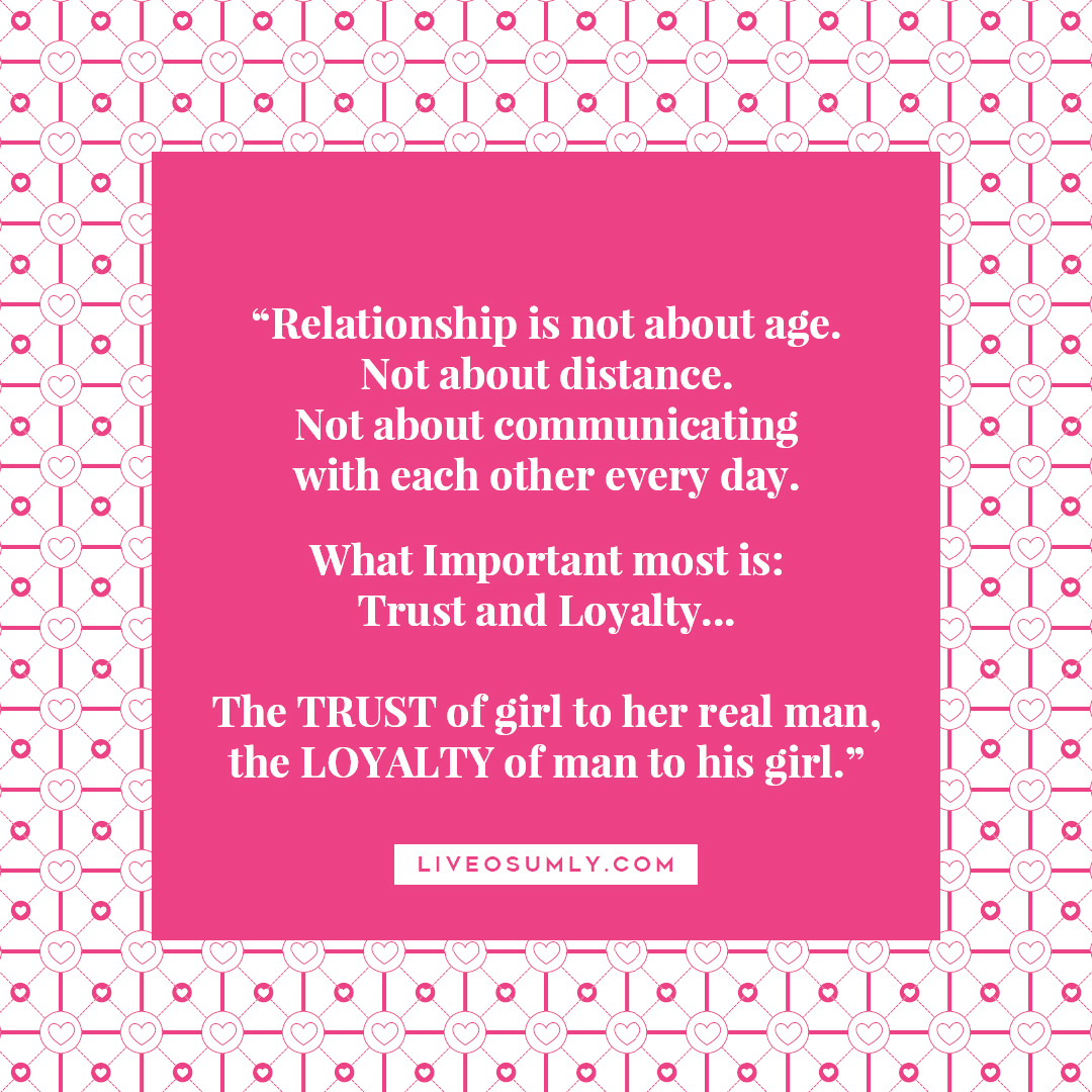 36. Surviving LDR Quotes - Trust and Loyalty