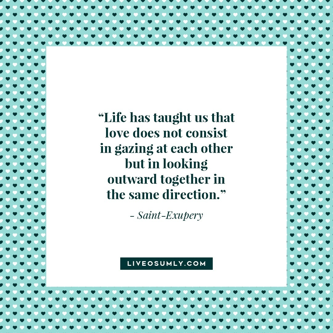 45. Surviving Long Distance Relationship Quotes - Saint-Exupery Quote