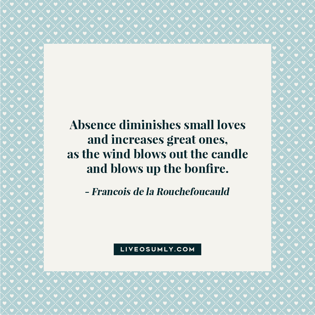 46. LDR Quotes for Her - Francois de la Rouchefoucauld Quote