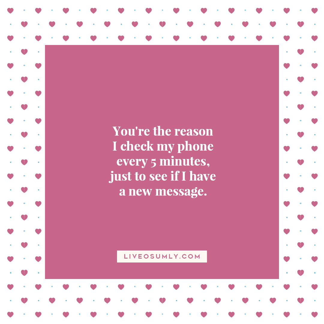 47. Long Distance Relationship Quotes for Her - You are the reason