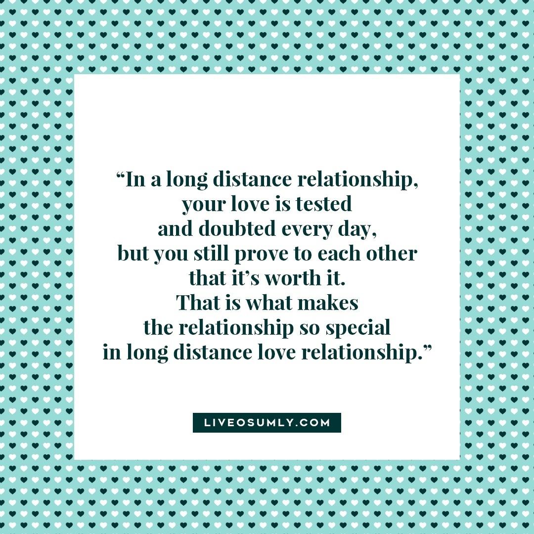 7. Surviving Long Distance Relationship Quotes - Long Distance Love Relationship
