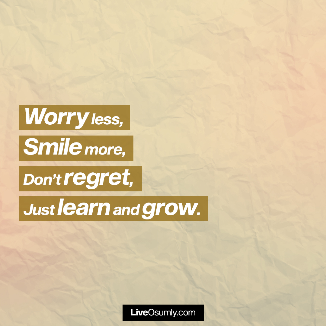 16. Learn and Grow