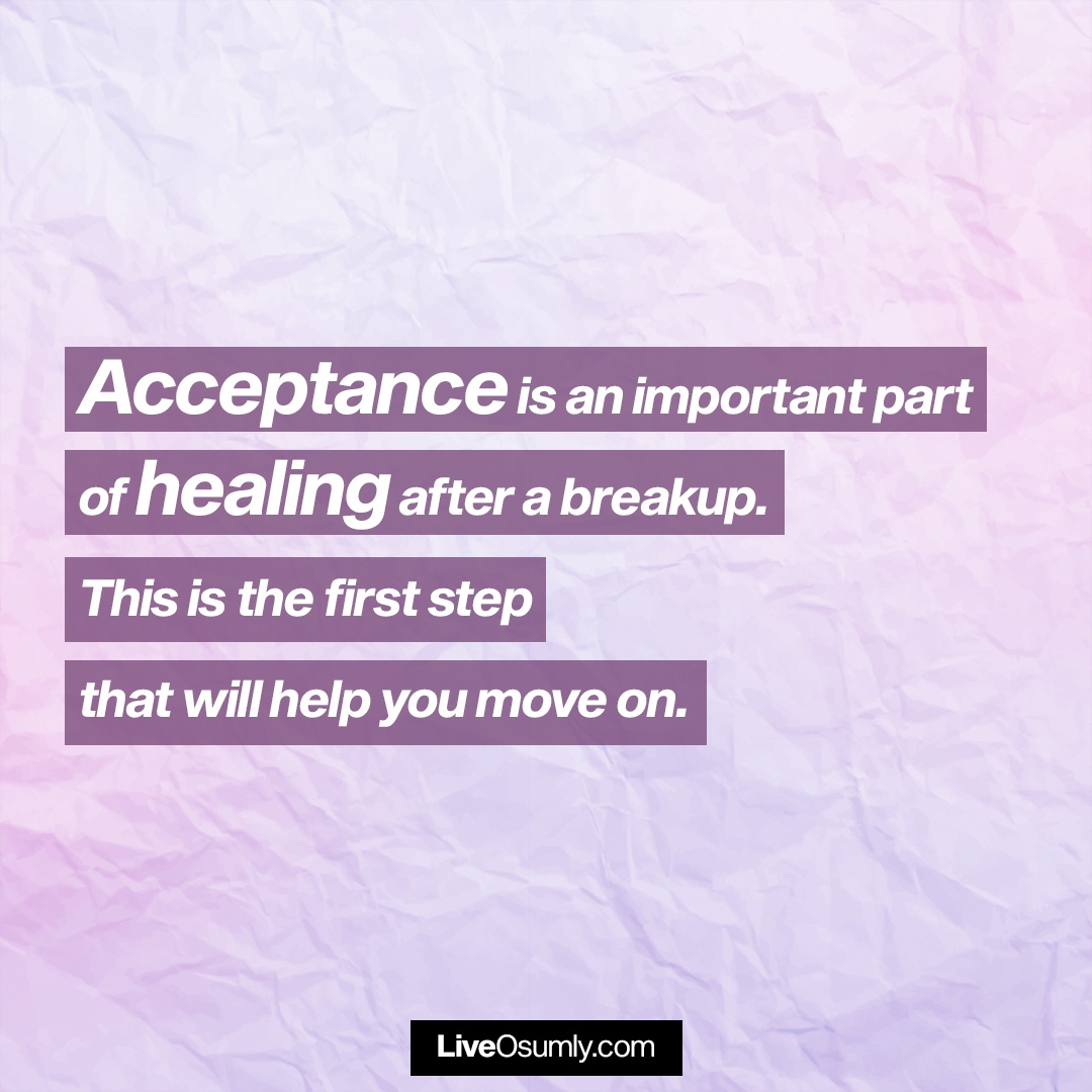 2. Breakup Quote about Acceptance
