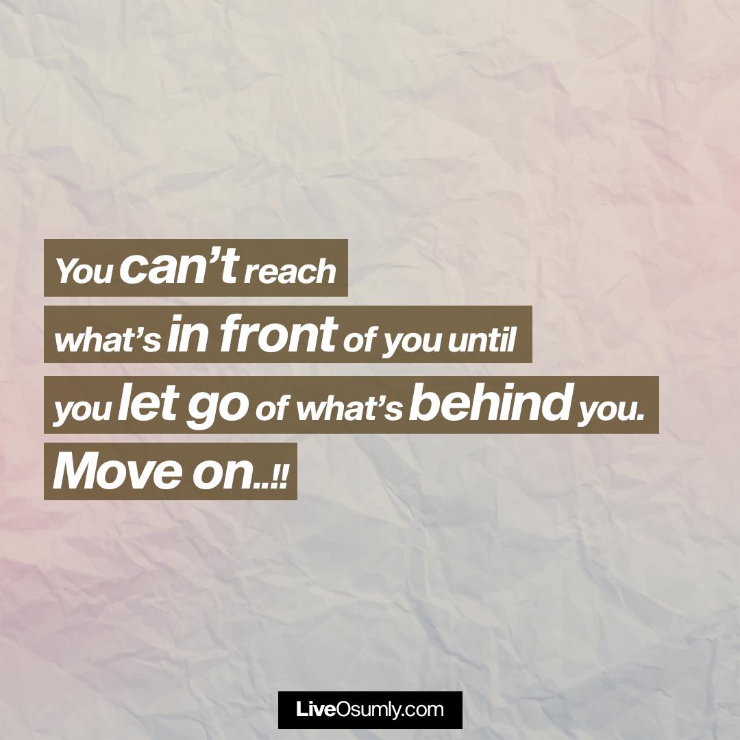 20. Move on Breakup Quote
