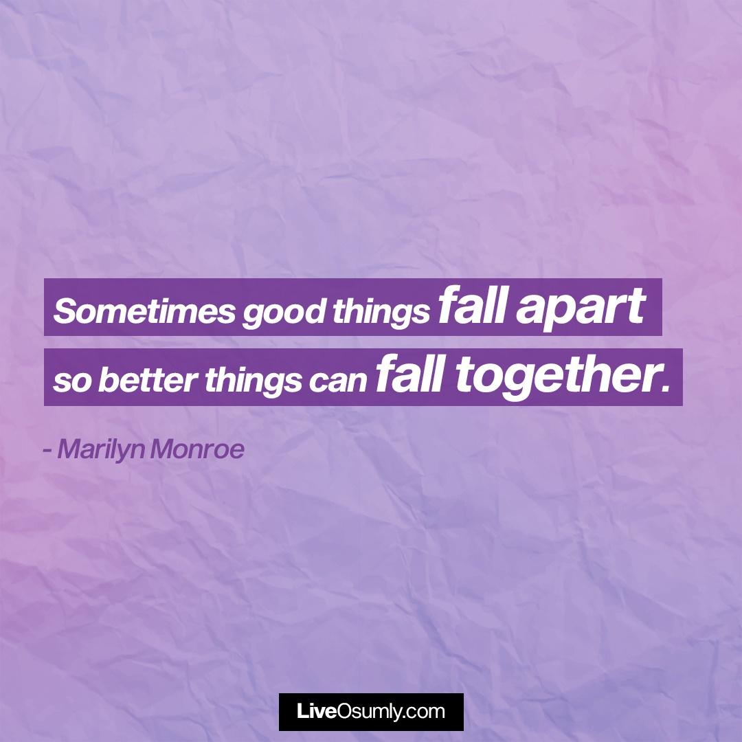 21. Marilyn Monroe Breakup Quote