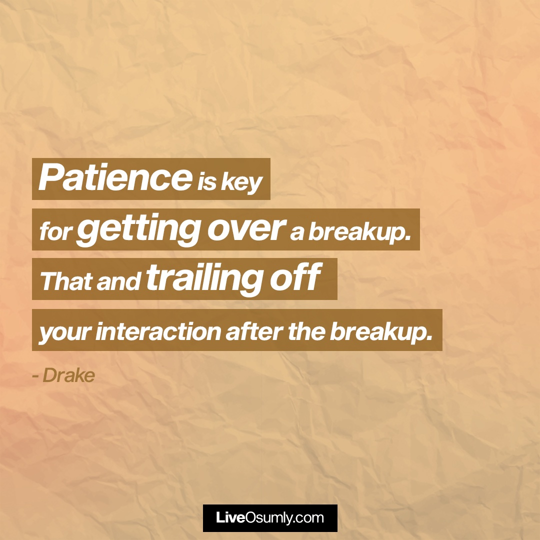 24. Drake Quote on Patience