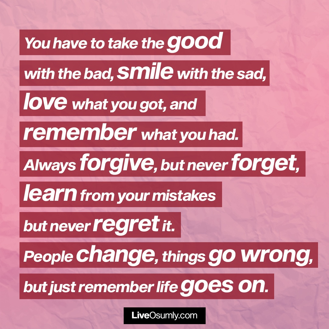 25. A Lovely Breakup Quote