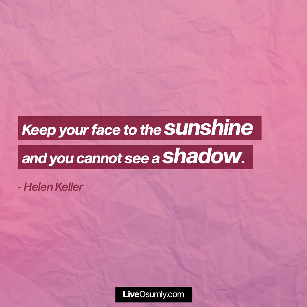 26. Helen Keller Quote