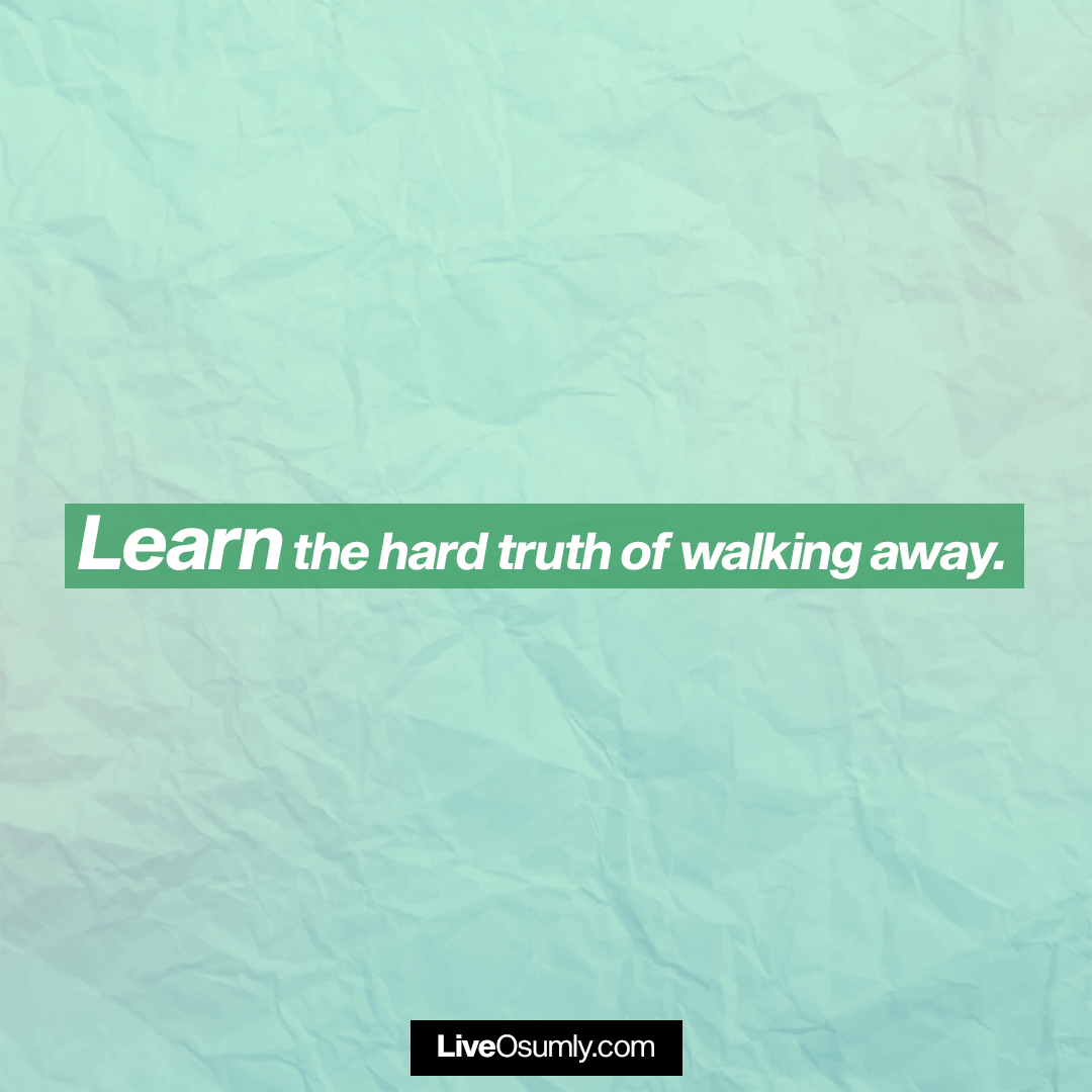 29. The Hard Truth Quote