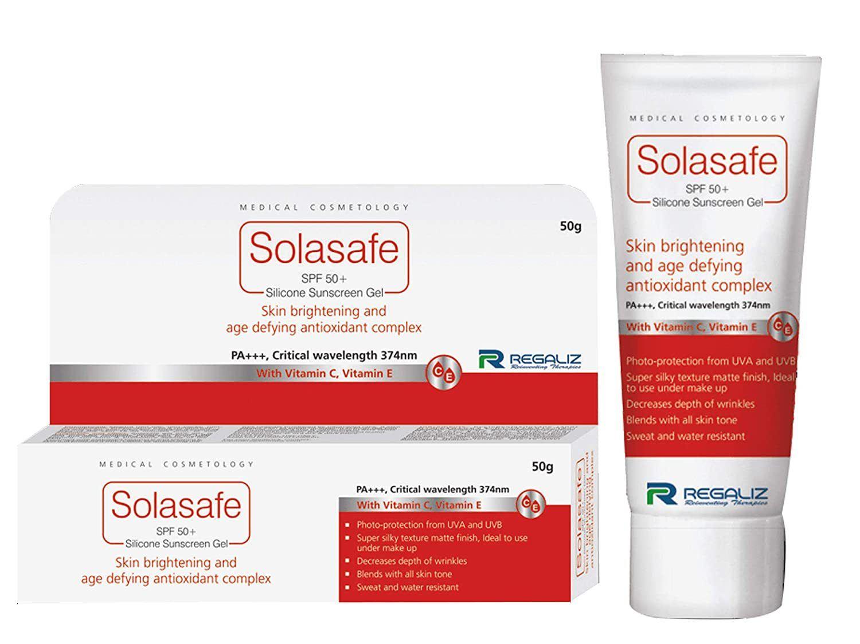 3. Regaliz Solasafe SPF 50+ Silicone Sunscreen