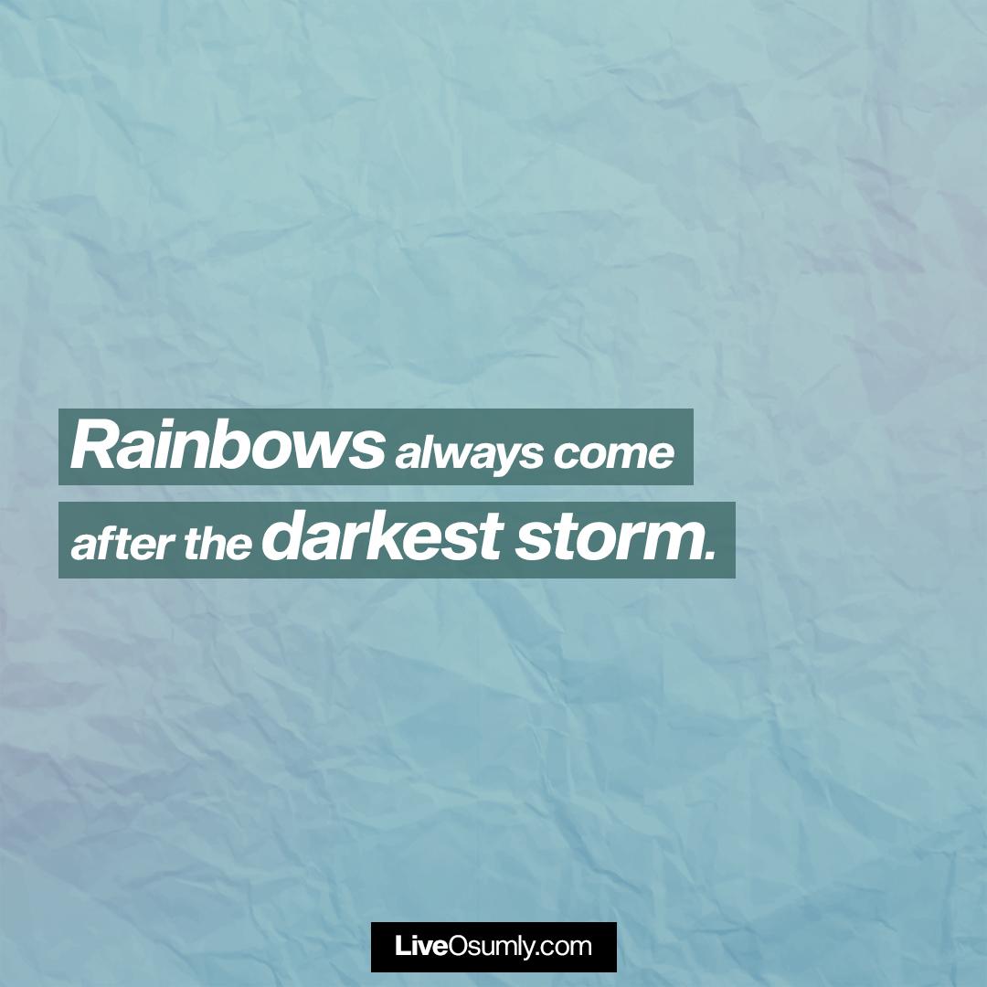 31. The Rainbow Quote