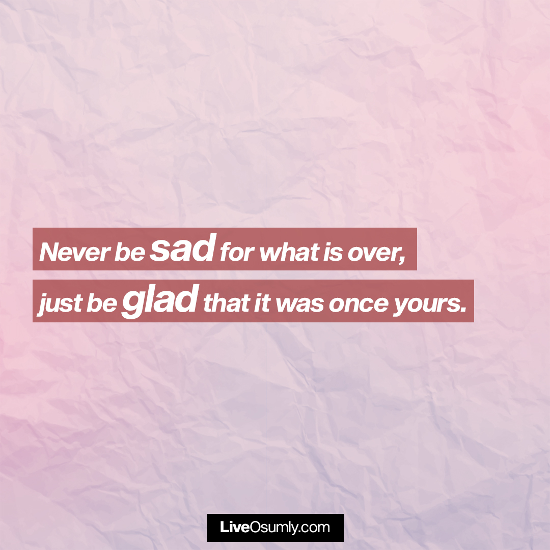 32. A lovely Breakup Quote