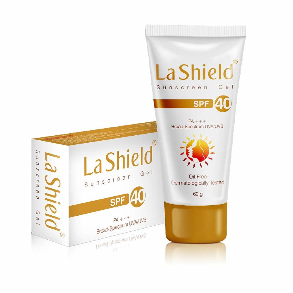 4. La Shield SPF 40+ & PA+++ Anti Acne Sunscreen Gel