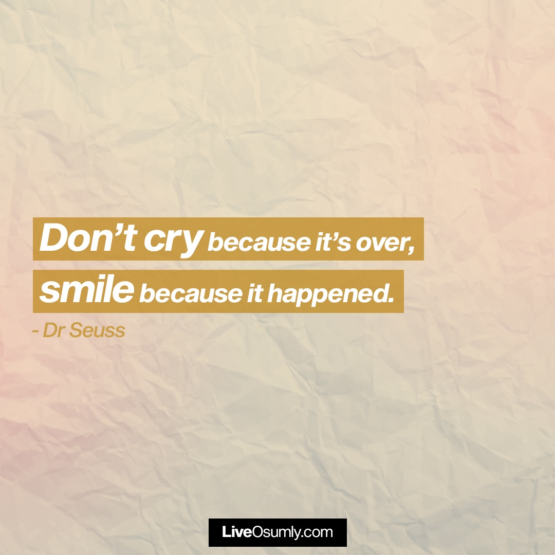 6. Dr Seuss Quote on Breakup