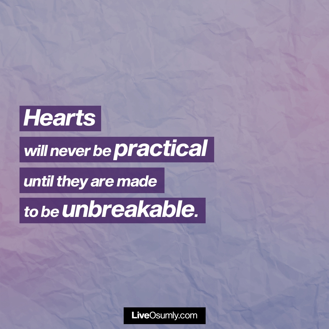 9. Heart Quote