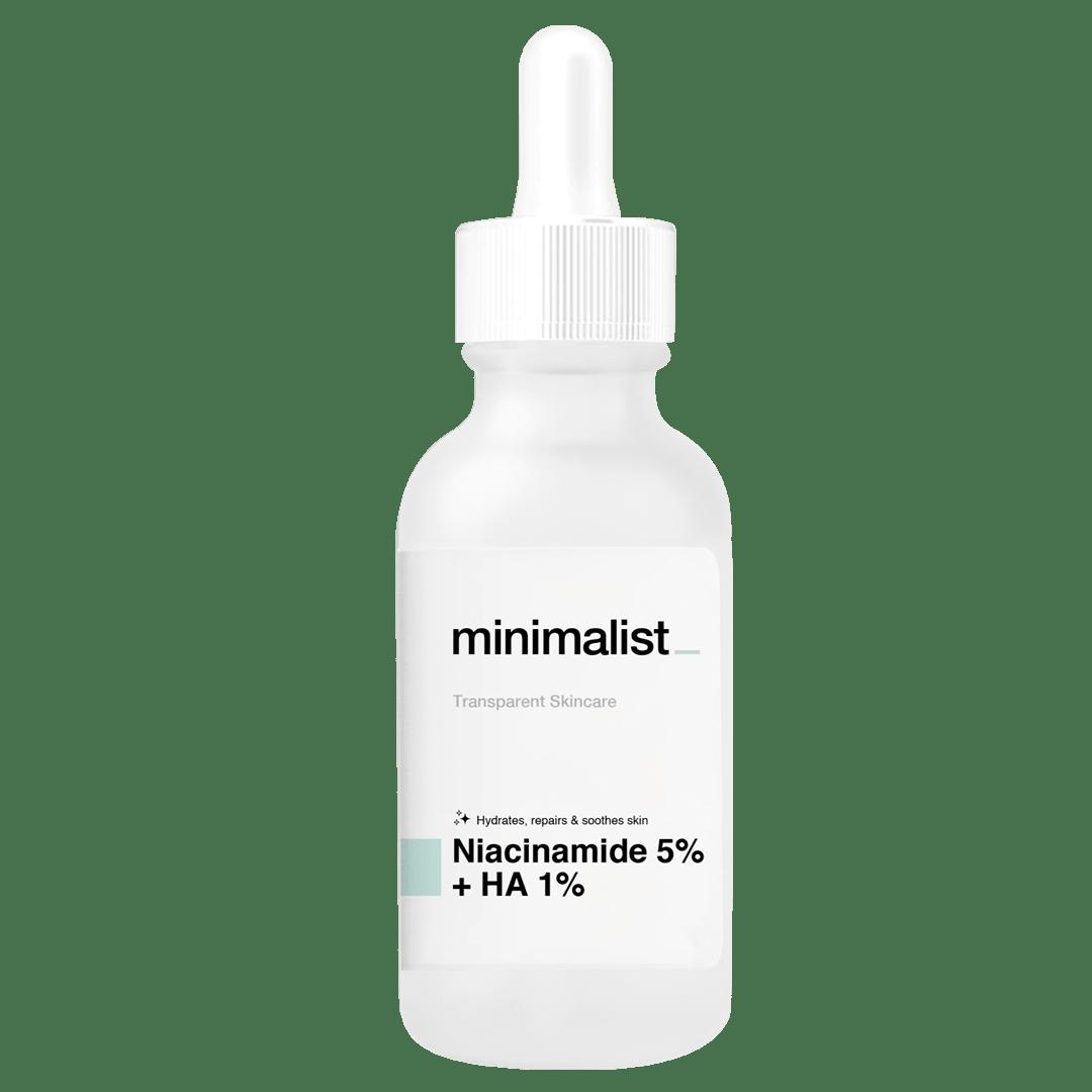 Be Minimalist Niacinamide 5% Hyaluronic Acid 1% Packing