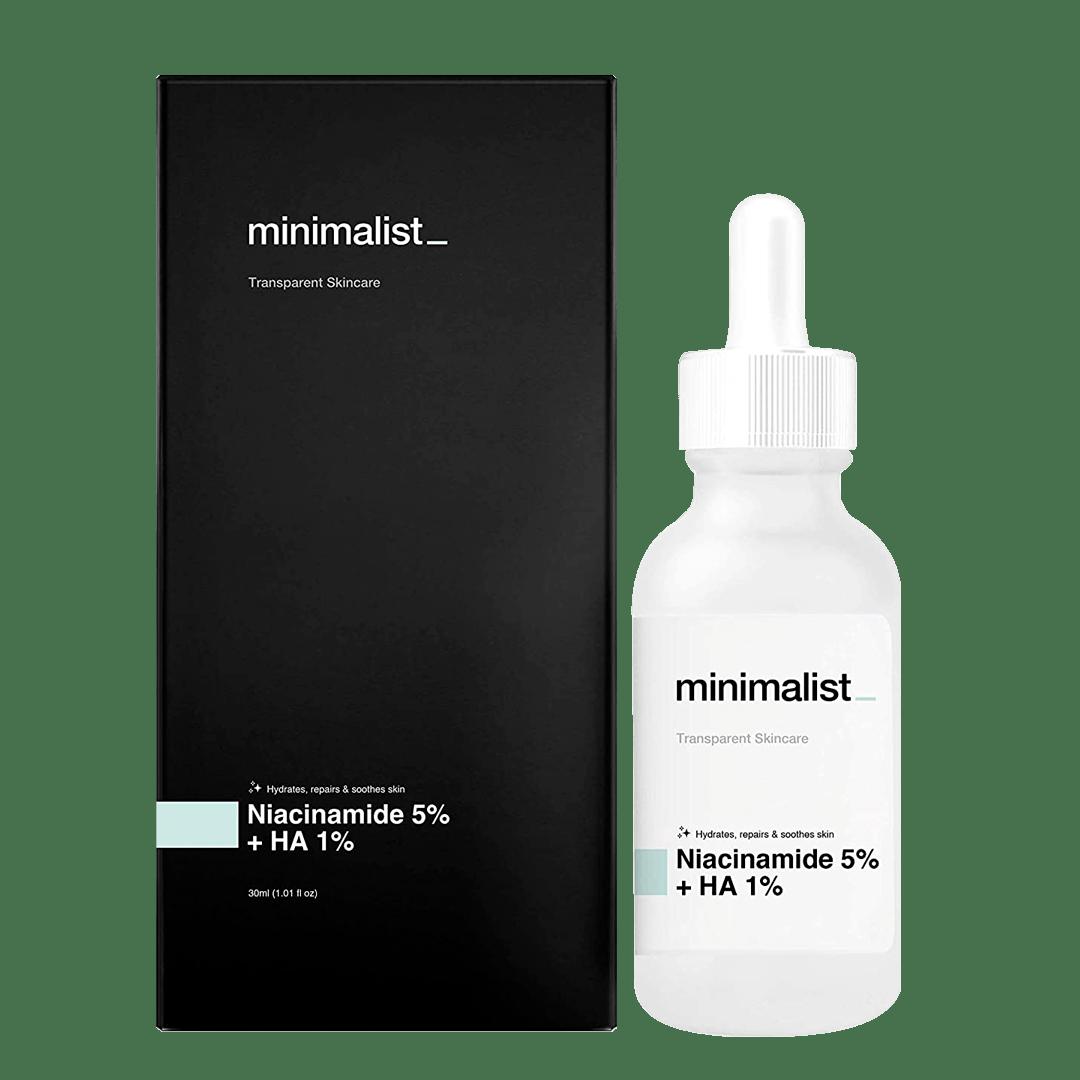 Be Minimalist Niacinamide 5% Hyaluronic Acid 1%