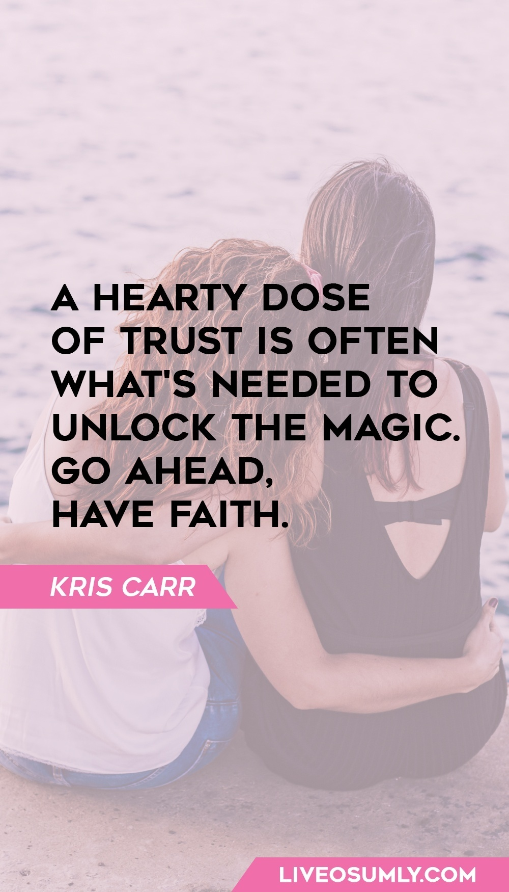 Kris Carr one of the Quotes about Trust in a Relationship