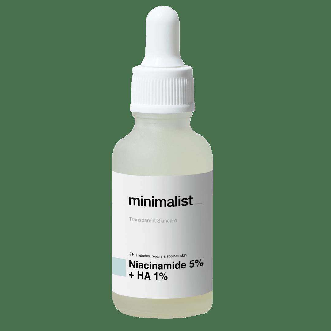 Minimalist's Niacinamide 5% + Hyaluronic acid 1%