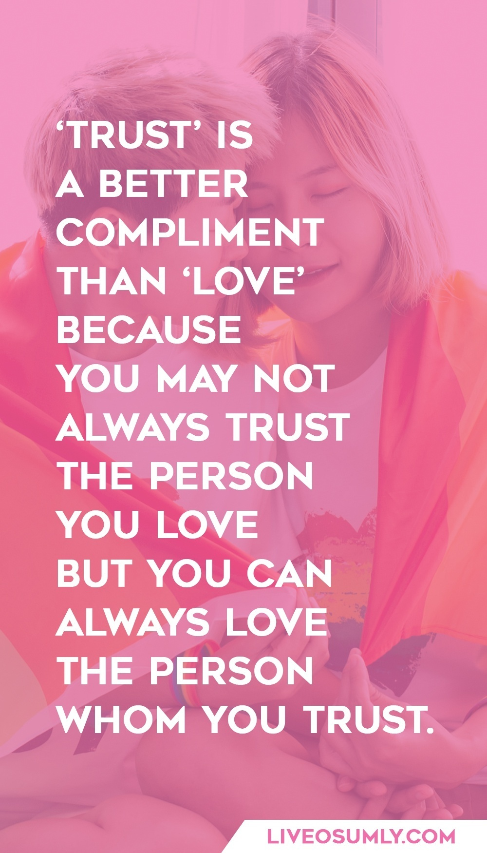 Positive Trust Quote in a Relationship