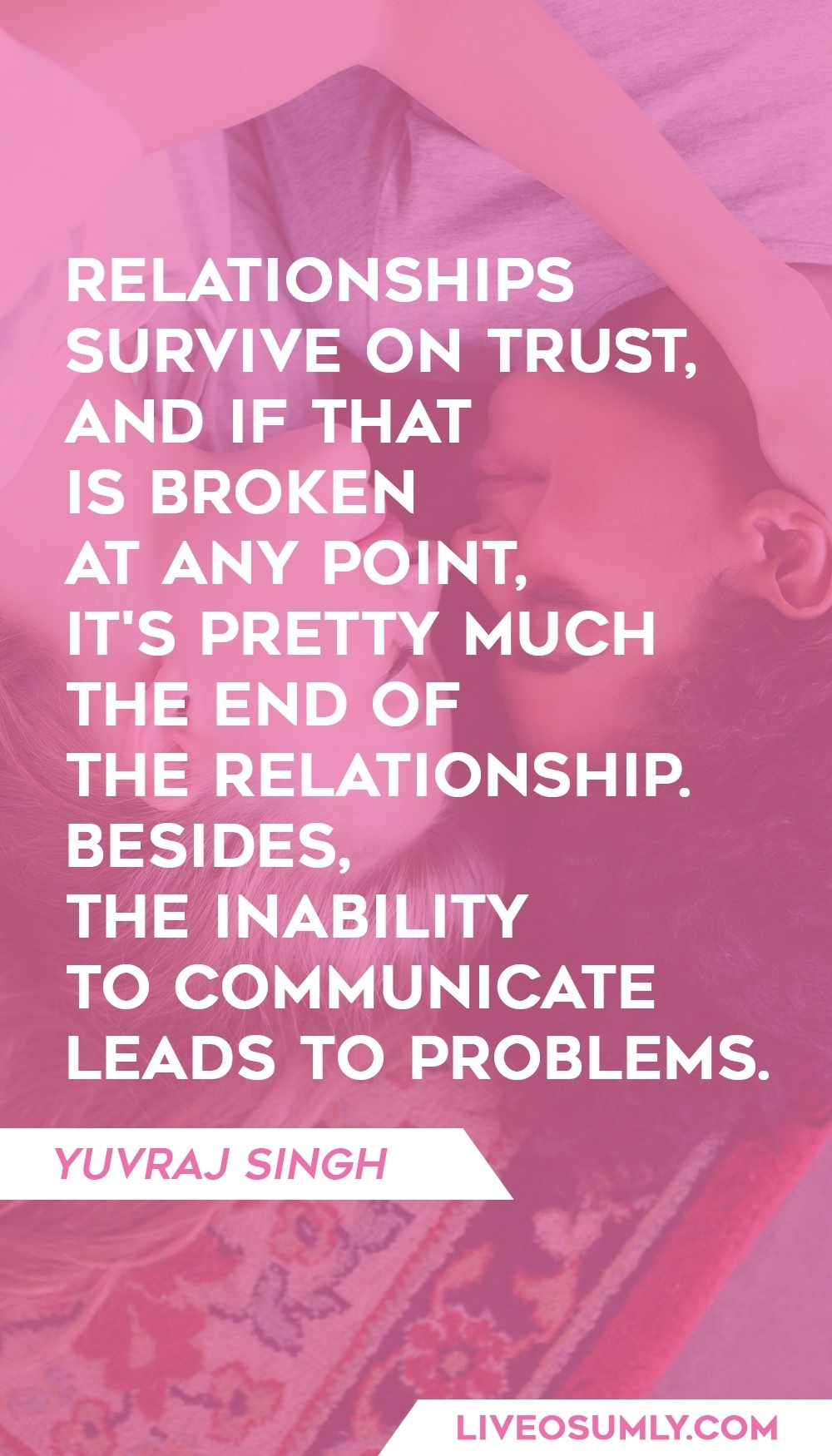 Quote about Importance of Trust in a Relationship