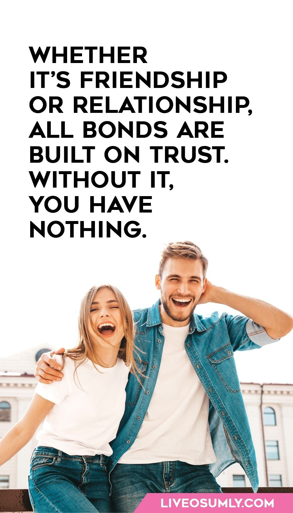 Trust in a Relationship Quote
