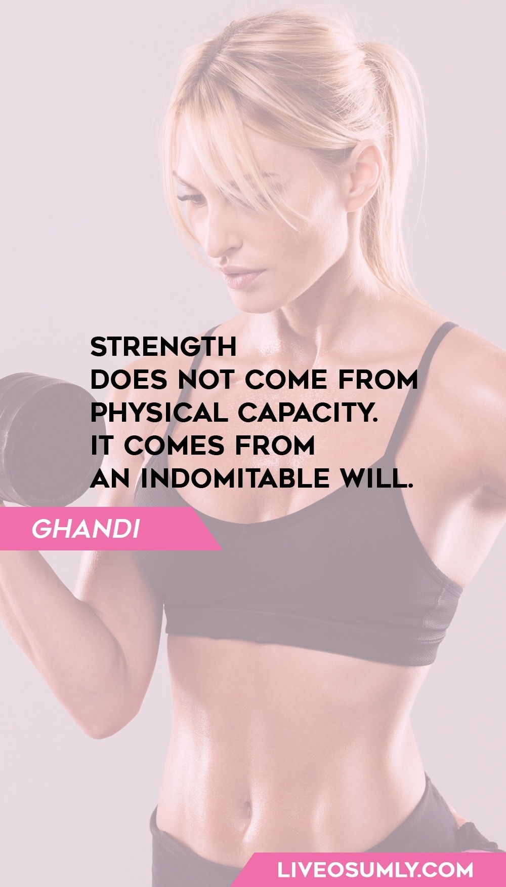 1. Ghandi Quotes on Fitness