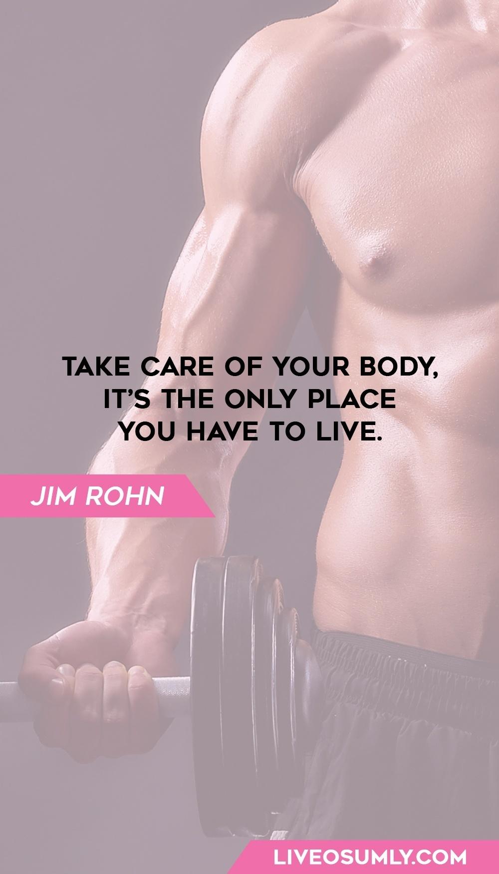 39. Jim Rohn Motivational Fitness Quotes