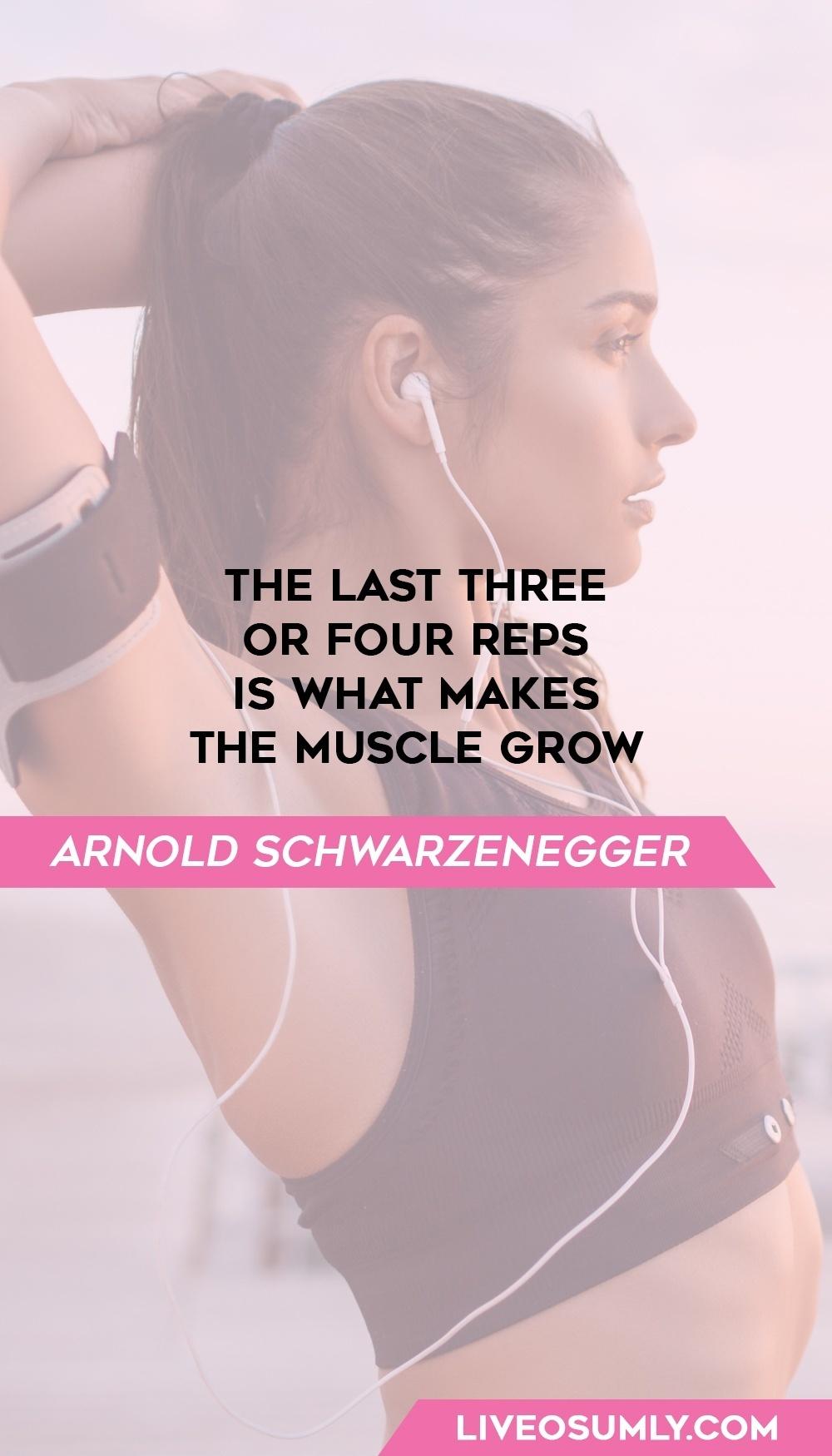 48. Arnold Schwarzenegger Quote on Fitness