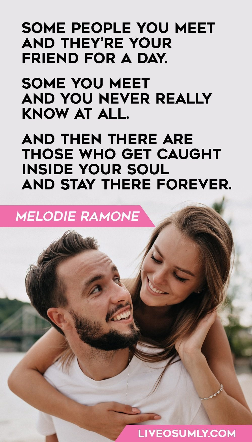 Melodie Ramone Valentines Day Quote